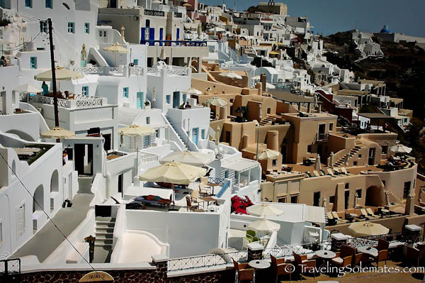 Homes in Imerovigli, Santorini, Greece