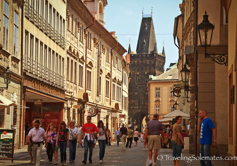Wakling around Stare Meto (Old Town) , Prague, Czech Republic