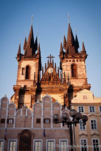 Tyn Church, Prague, Czech Republic