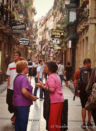 Old Town, San Sebastian, Spain
