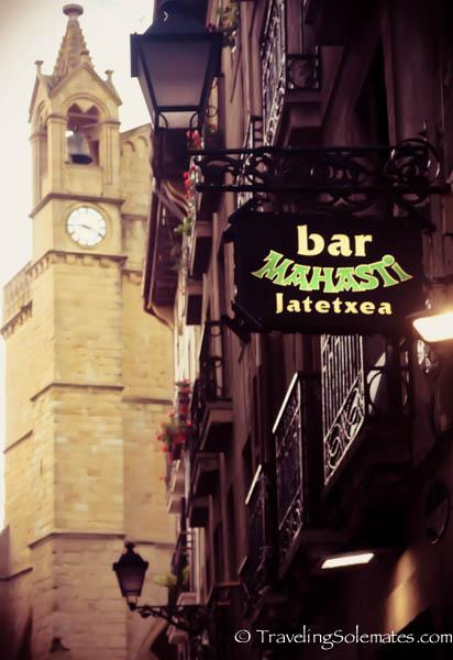Pintxo Bar, Old Quarter, San Sebastian, Spain