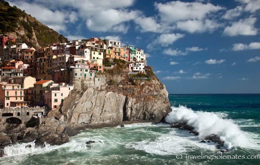 Waves of Manarola, Cinque Terre, Italy