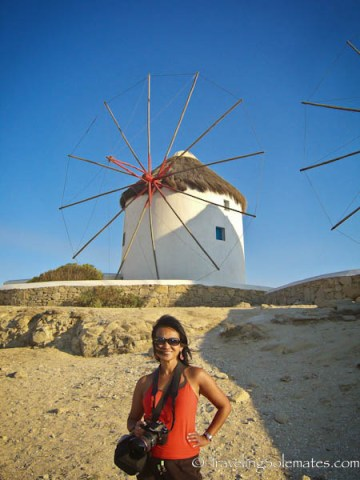 Windmill of Mykonos, Greece