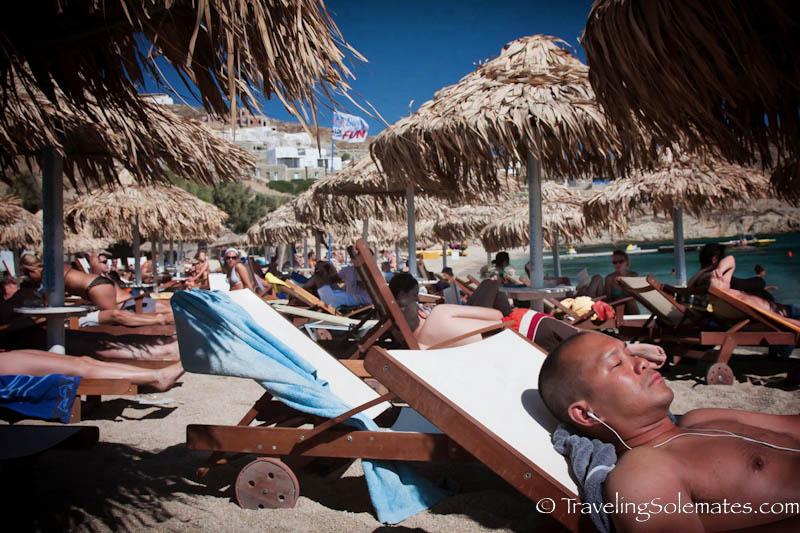 Paradasie Beach, Mykonos, Greece