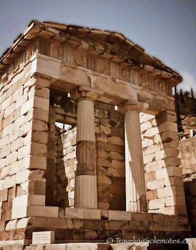 Treasury, Delphi, Greece