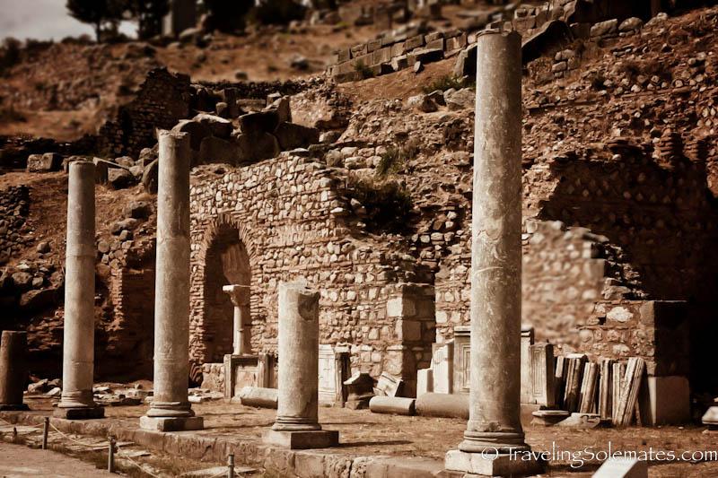 The Marketplace, Delphi, Greece