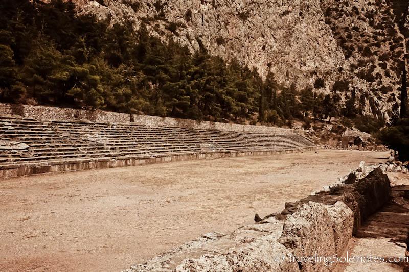 The Stadium, Delphi, Greece