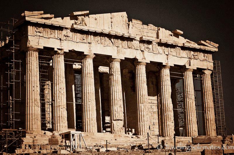 Pathenon, Acropolis, Athens, Greece