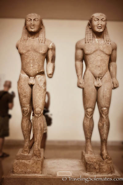 Twins of Argos, Museum of Delphi, Greece