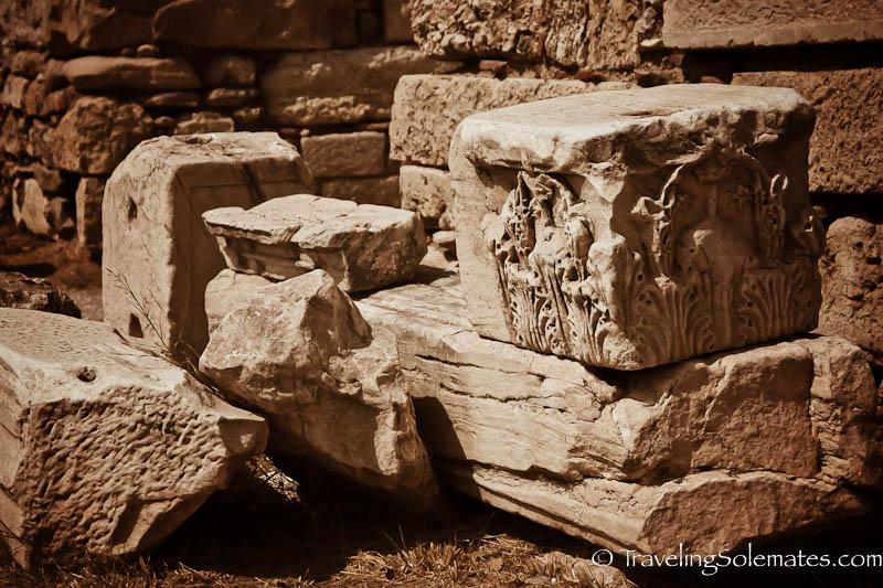 Rubles at Ancient Agora, Athens, Greece