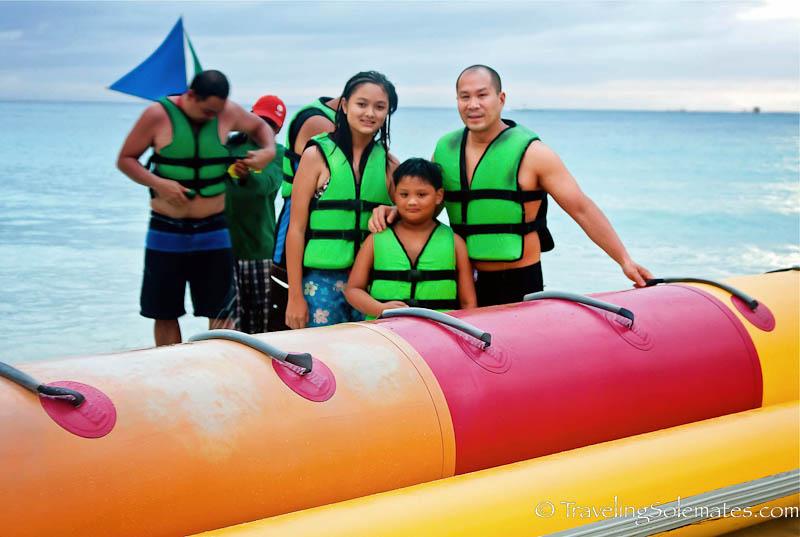 Banana Boat Ride, Boracay Island, Philippines