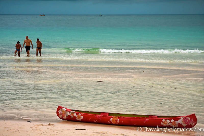 Red Boat, Boracay Island, Philippines