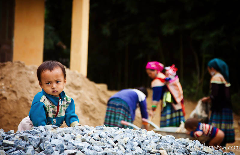 Flower Hmong Village - Trekking in the Hillribe Villages around Bac Ha, Vietnam