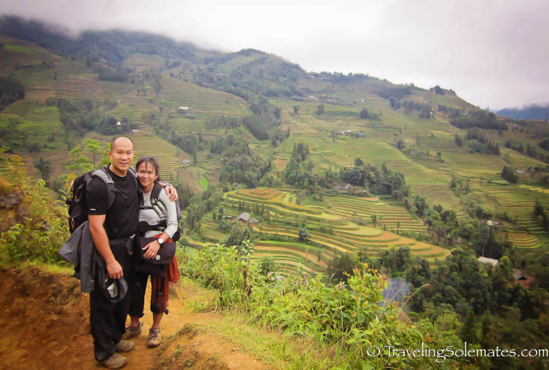 Rice Terraces in Thai Giang Pho- Trekking in the Hillribe Villages around Bac Ha, Vietnam
