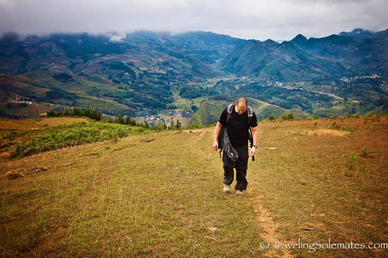 Trekking in the Hillribe Villages around Bac Ha, Vietnam