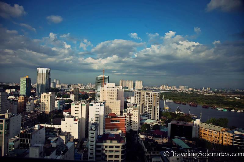 Skyline of Ho Chi Minh (Saigon), Vietnam