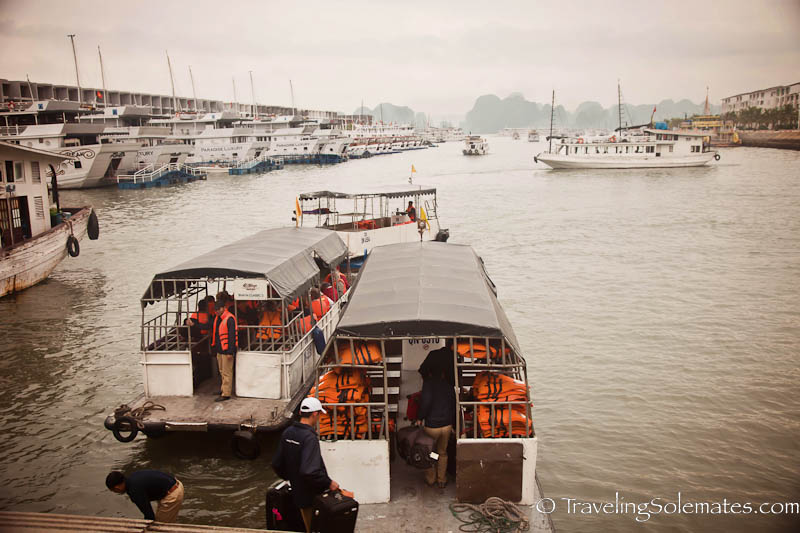 Port of Halong Bay, Vietnam
