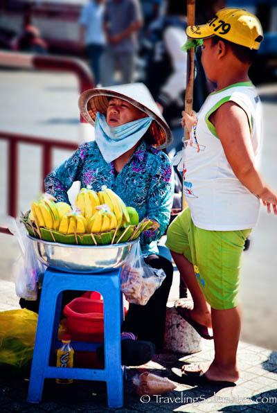 Mango Vendor, Ho Chi Minh, (Saigon), Vietnam