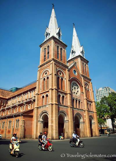 Notre Dame Cathedral, Ho Chi Minh, (Saigon), Vietnam.