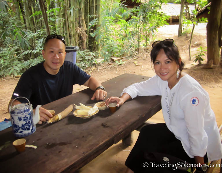 Tapioca Meal, Ch Chi Tunnels, Vietna