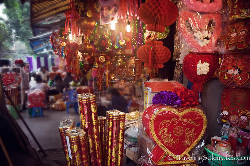 Paper Product Street, Old Quarter, Hanoi, Vietnam