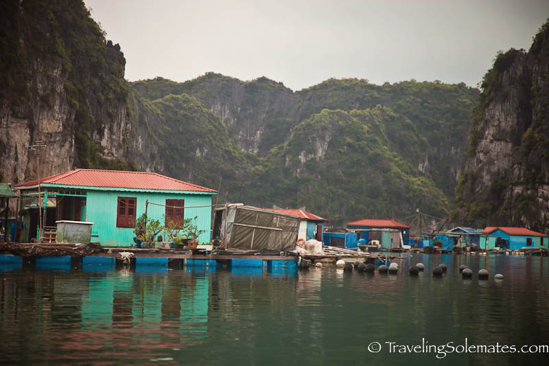 Vung Vieng Fishing Village,  Halong Bay, Vietnam