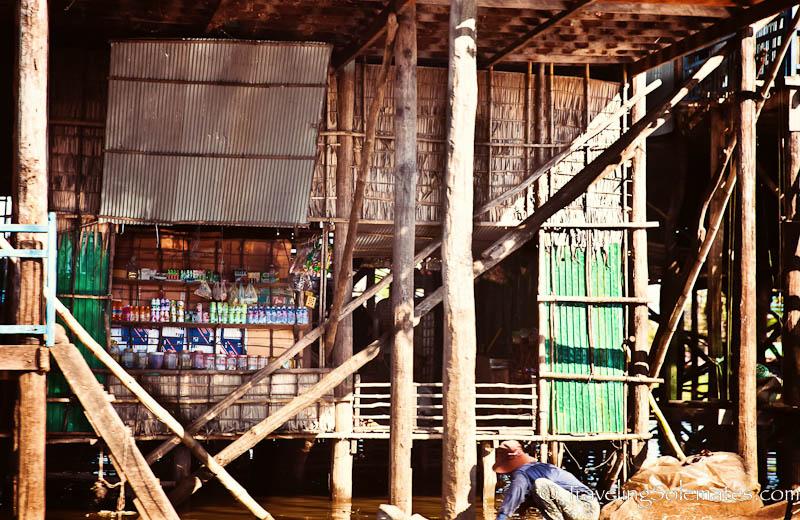 Grocery Store in Kompong Phluk, Tonle Sap, Cambodia
