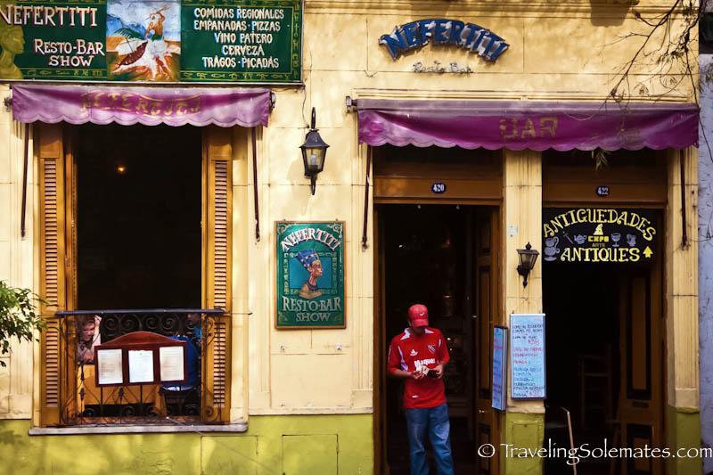 Restaurant in San Telmo, Buenos Aires, Argentina