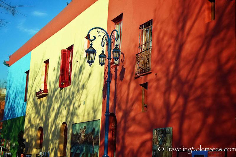 Colorful Houses,Caminito, La Boca, Buenos Aires, Argentina