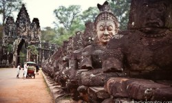 Angkor Thom South Gate, Cambodia