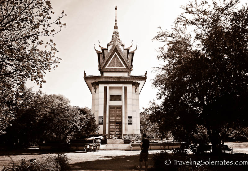Memorial Pagoda, Choeung Ek Killing Field, Phnom Penh, Cambodia
