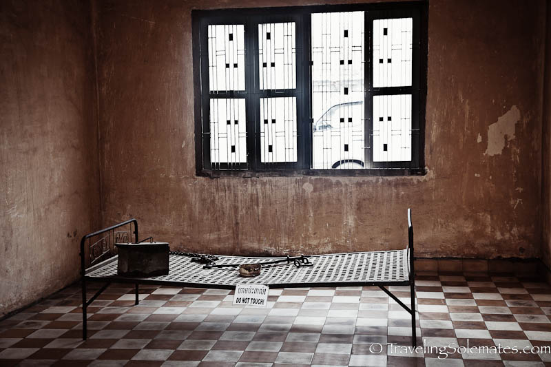 Building A Cell, Tuol Sleng Prison, Phnom Penh