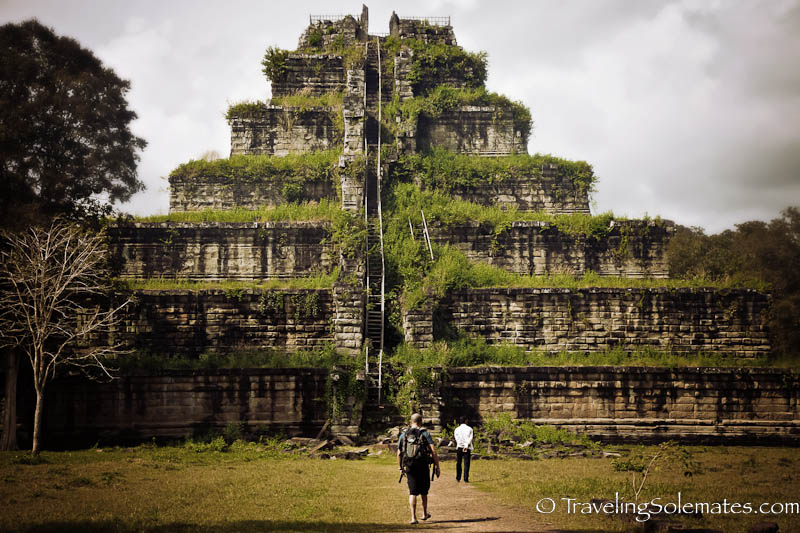 Prasat Thom, the pyramid structure and main temple in Koh Ker, Cambodia