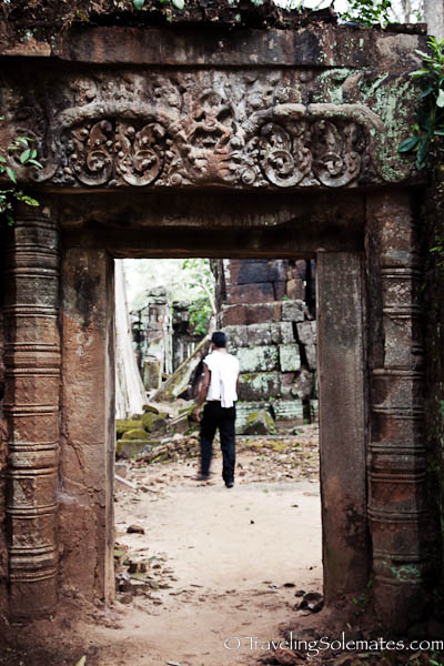 Ruins of Koh Ker in Cambodia