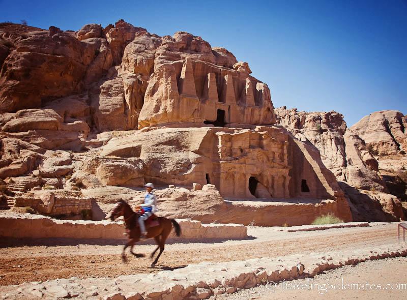 The Obelisk Tomb,  Petra, Jordan