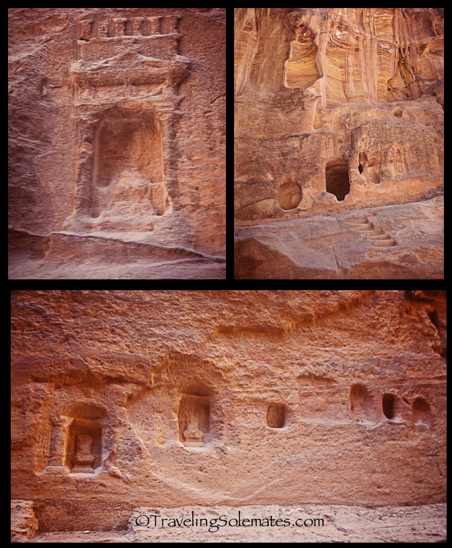 10b_Niches along the Siq, Petra, Jordan