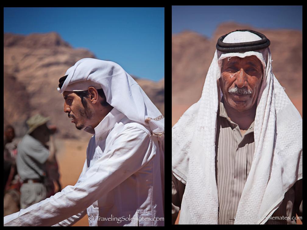Bedoin Men, Wadi Rum, Jordan