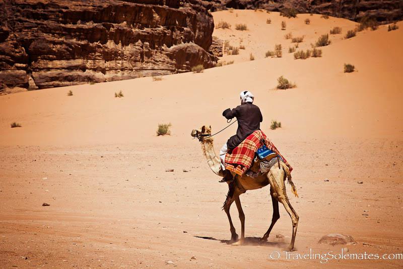 Camel Trek, Wadi Rum, Jordan
