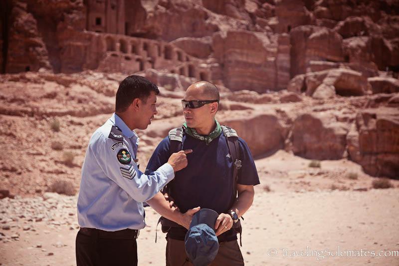 Tourist Police, Petra, Jordan