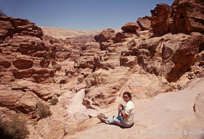 Halfway to the Monastery, Petra, Jordan