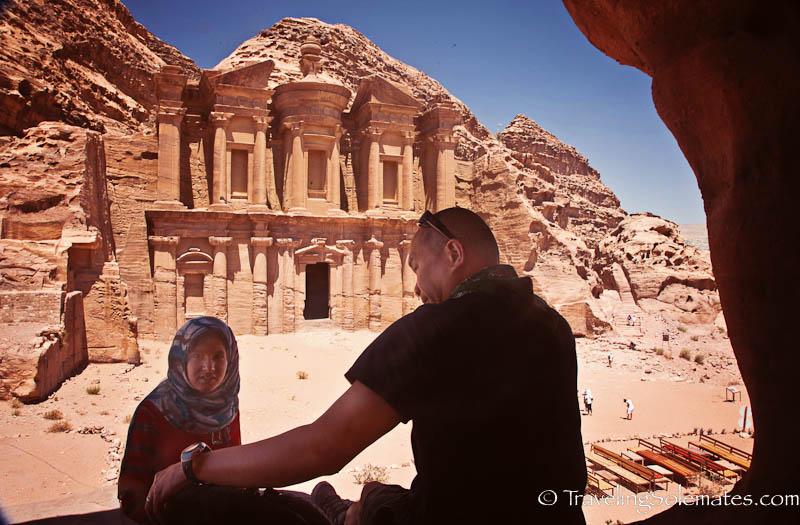 37b_Cave near  the Monastery, Petra, Jordan