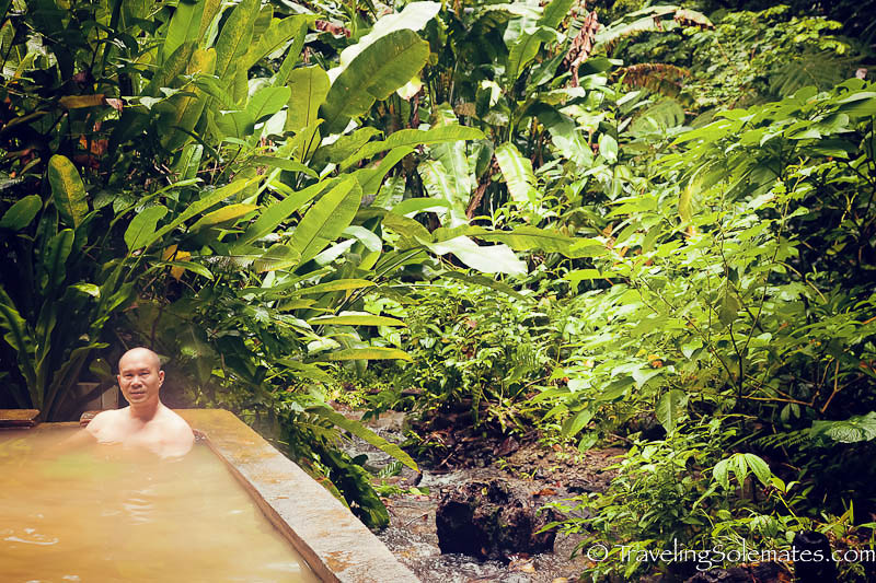 Hot Pool at Papillote Wilderness Retreat, Dominica
