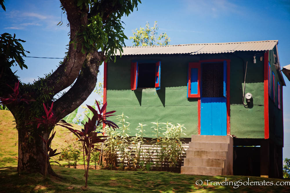 A Kalinago house along Waitakabuli Trail, Segment 6, Kalinago Territory, Dominica