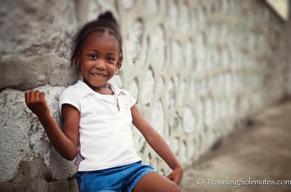 Little Girl, Roseau, Dominica