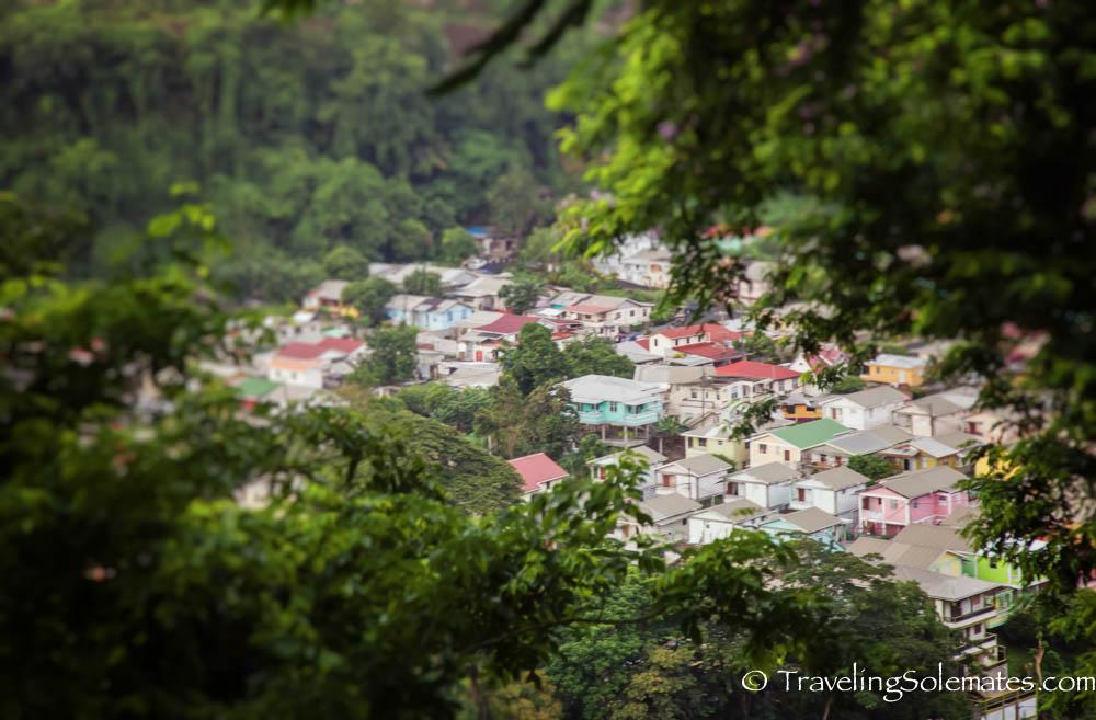 View from Morne Bruce, Roseau, Dominica