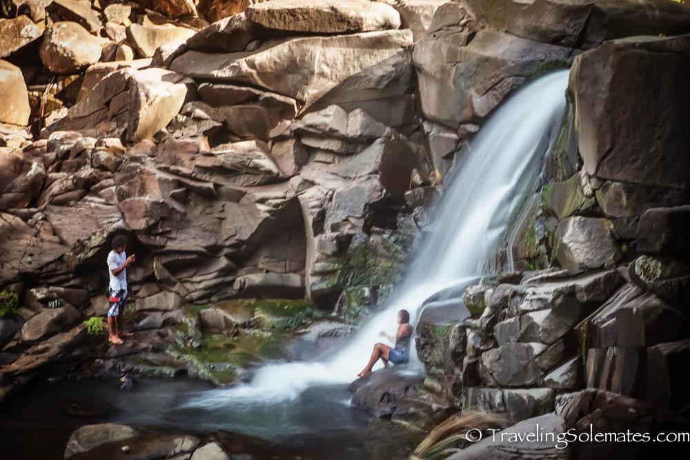 Isulukati Falls, Kalinago Barana Autê, Kalinago Territory, Dominica