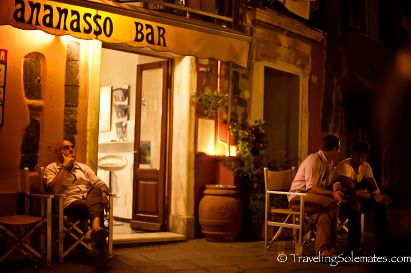 Ananasso Bar in Vernazza, Cinque Terre, Italy