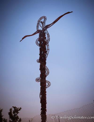 Cross in Mt. Nebo, Jordan