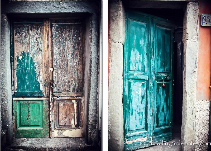 Doors Riomagiorre, Hiking in Cinque Terre, Italy