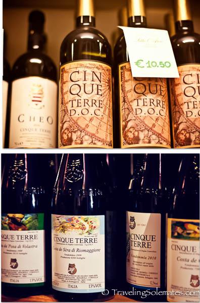 Wines of Cinque Terre, Italy